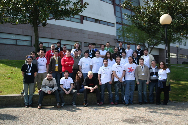 Random group photo @ Dudesconf'2007